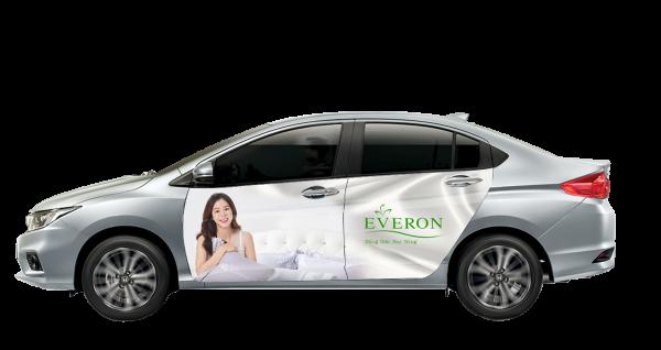 Sixth Sense đồng hành cùng Everon trong chiến dịch quảng cáo trên xe hơi
