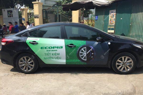 Quảng cáo trên xe hơi, xe ô tô cá nhân tại Nha Trang