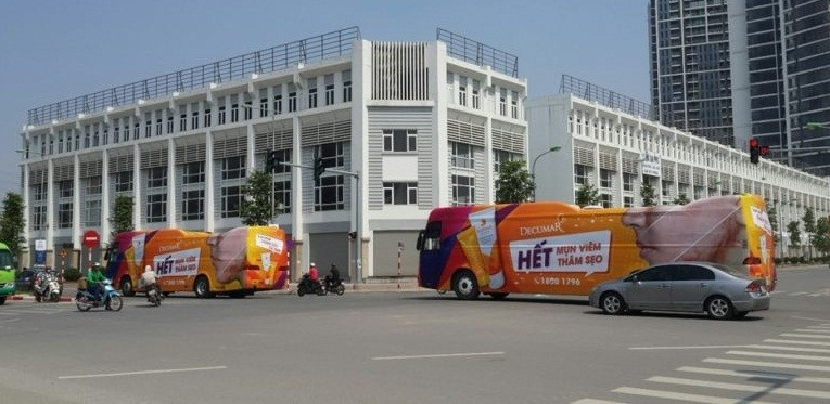 Roadshow quảng cáo tại TPHCM