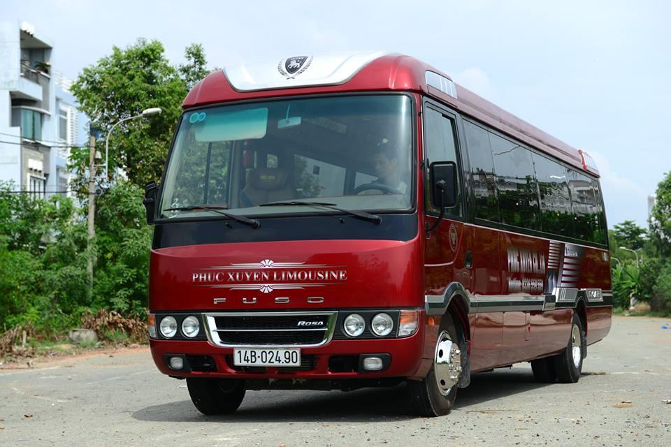 Xe khách Limousine cao cấp Hà Nội – Quảng Ninh