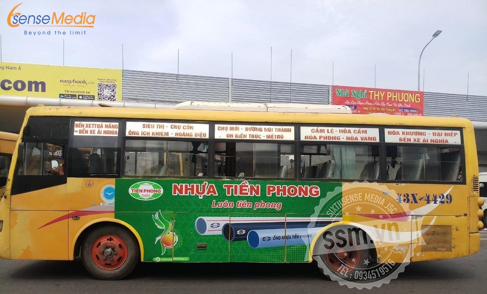 quảng cáo xe bus đà nẵng