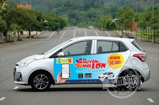 Quảng cáo taxi 36 tại Thanh Hóa