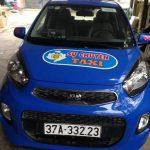 quảng cáo taxi Sự Chuyên tại Nghệ An