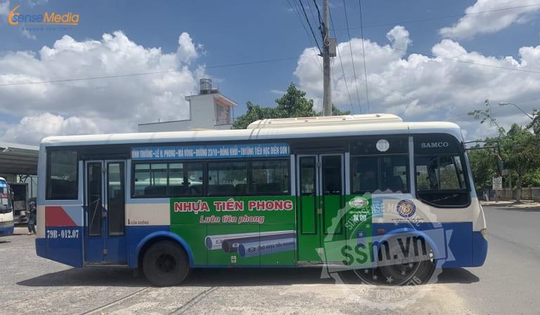Quảng cáo xe bus Nha Trang – Mang thương hiệu đến gần khách hàng