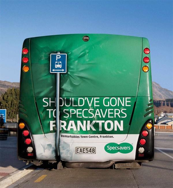 Chiêm ngưỡng 10 mẫu quảng cáo xe bus độc lạ nhìn 1 lần là nhớ mãi