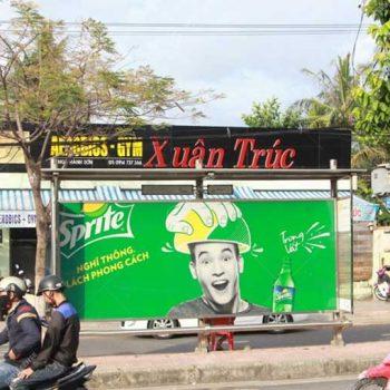 Quảng cáo nhà chờ xe bus taị Đà Nẵng thu hút khách hàng 24/7