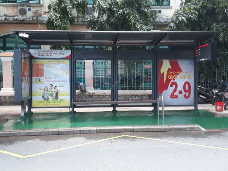 quảng cáo nhà chờ xe bus tại TPHCM