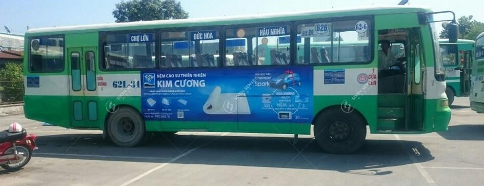 quảng cáo xe buýt ở long an