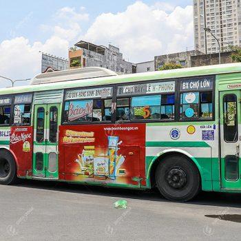 Quảng cáo xe buýt ở Long An hiệu quả cho mọi doanh nghiệp