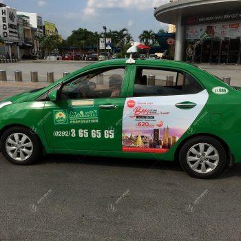 quảng cáo xe taxi kiên giang