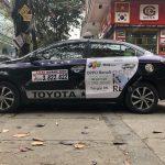 quảng cáo xe taxi Sao Quảng Ninh