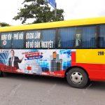 Quảng cáo xe buýt ở Hưng Yên hiệu quả và tiết kiệm