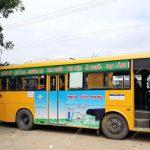 quảng cáo xe buýt ở Quảng Nam